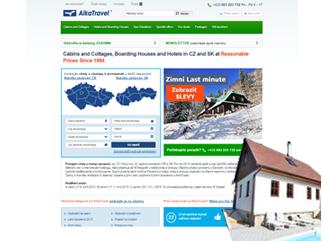 Alkatravel.cz – Kódování HTML a CSS šablon stránek alkatravel.cz