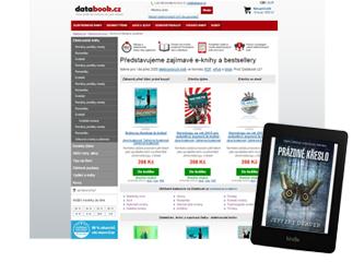 Databook.cz – Kódování HTML a CSS3 šablon e-shopu Databook.cz a jeho design včetně wireframů