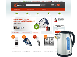 Vede.cz – Implementace CSS3 šablon do e-shopu vede.cz pomocí Smarty šablonovacího systému