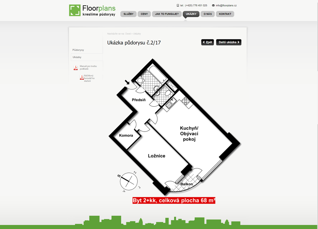 Web floorplans.cz