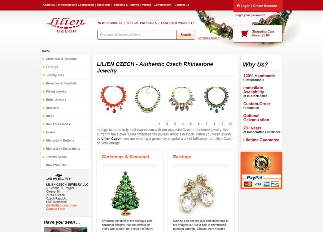 Web lillienczech.cz