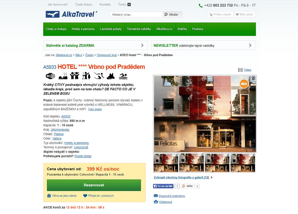 Alkatravel.cz – Kódování HTML a CSS šablon pro Ruby on Rails